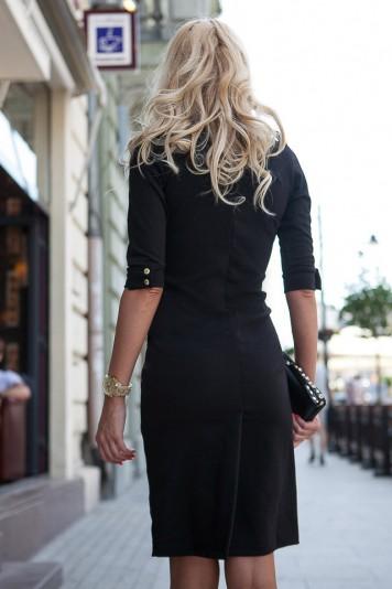 Sexi šaty s rozparkom vzadu