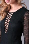 Elegantné šaty s hlbokým výstrihom z kolekcie PREMIUM