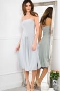 Sexi, sivé šaty 4 v 1.