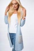 Štýlový, dlhý, moderný sveter, L.BLUE