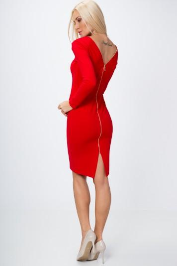 6276448297af Priliehavé šaty s dlhým rukávom