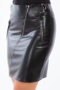 Sexi, čierna sukňa z eko kože.