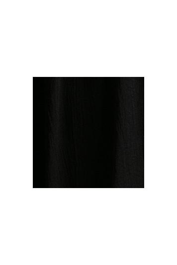 Nádherný, voľný, čierny top v boho štýle.