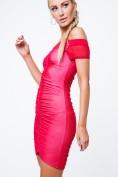Dámske šaty s odhalenými ramenami, červené