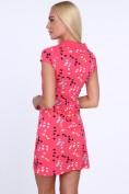 Ružové dámske šaty s potlačou motýľov