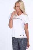 Dámske tričko s nápisom Good Things take time, biele