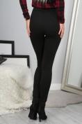 Trendy, černe nohavice s vysokým pásom