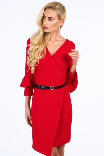 Elegantné šaty na špeciálnu príležitosť, červené
