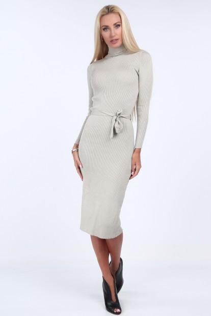 f90722e2481c Svetrové šaty s rolákovým golierom