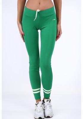 Legginsy sportowe zielone MR11016
