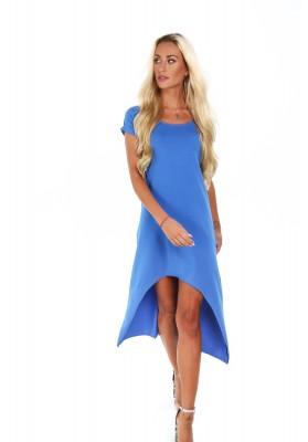 Letné indigové šaty