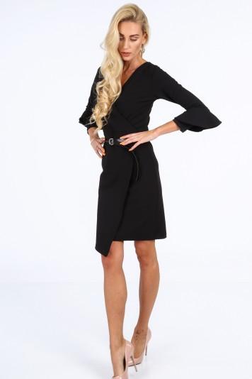 Elegantné šaty na špeciálnu príležitosť, čierne