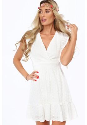 Krásne, moderné šaty s výstrihom v tvare V