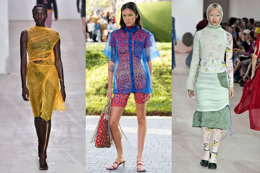 Priesvitné oblečenie