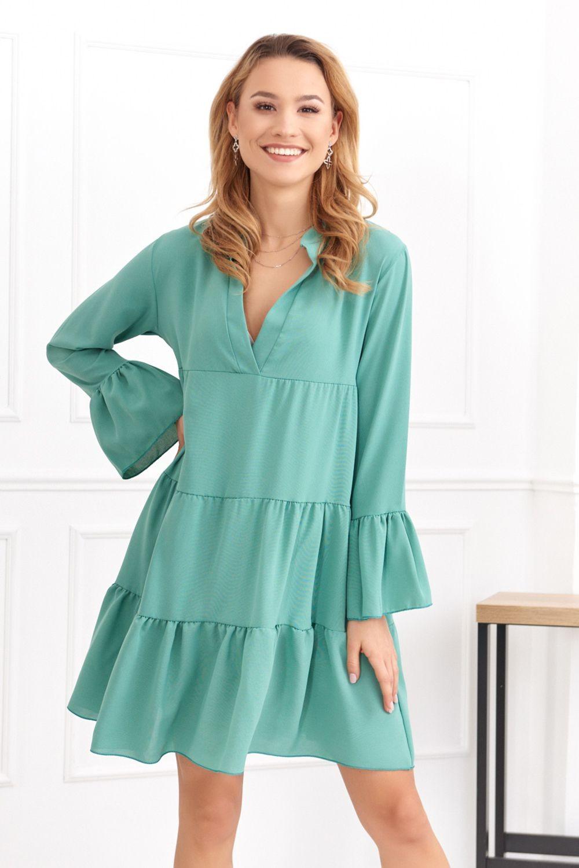 Tyrkysové šaty